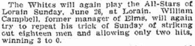 21 June 1904 Campbell Baseball